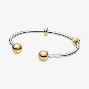 Jewelry - Pandora Moments Snake Chain Style Open Bangle